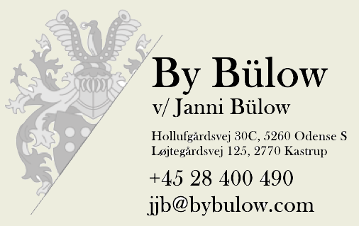 By Bülow business card new